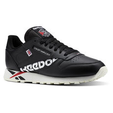 bf8414a7b330 Reebok - Classic Leather MU Ativ-Black White Excellent Red Chalk DV5016