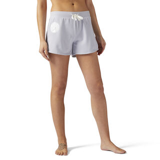 LES MILLS French Terry 10 cms Shorts Cloud Grey CE6700