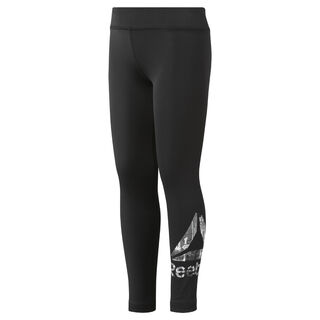 Girls' Reebok Adventure Basic Leggings Black DH4287