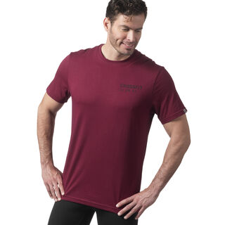Reebok CrossFit 'Mess You Up' Tee Red DH3689