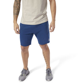 Elements Marble Melange Shorts Bunker Blue D94193