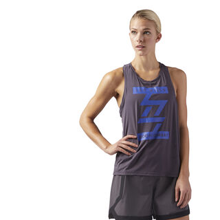 LES MILLS BODYCOMBAT Performance Tank Smoky Volcano CD6224
