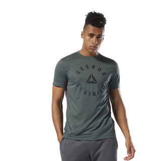 GS Training Speedwick Tee Chalk Green DH3737