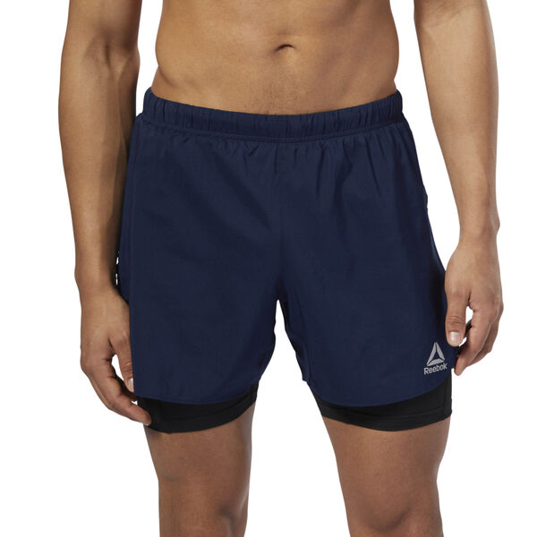 Running 2-1 Shorts Blue D92938