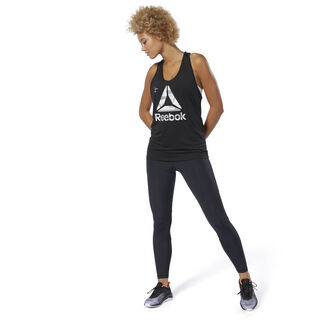 ACTIVCHILL Graphic Tank Top Black DU4168