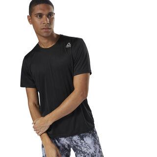 Running Short Sleeve Tee Black CY4668