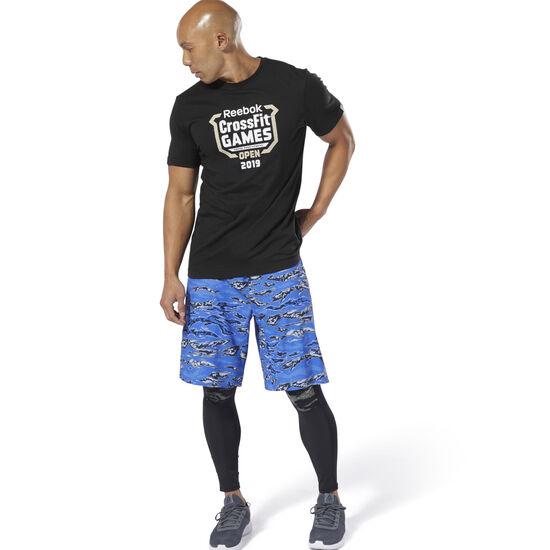 Reebok - Reebok CrossFit® Open Crest Tee Black DY0481