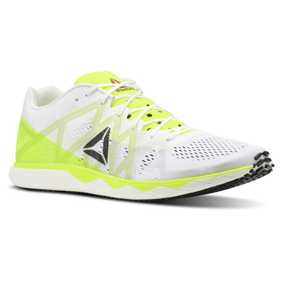 Reebok - Reebok Floatride Run Fast Pro White/Solar Yellow/Black/Steel CN7006