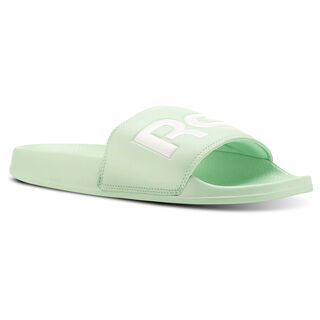 Classic Slide Splt-Digital Green/White CN4189