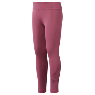 Girls' Reebok Adventure Basic Leggings Twisted Berry DH4289