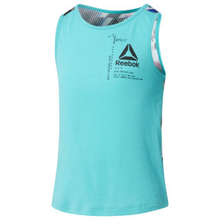 G FTR TANK Turquoise/Solid Teal CG0334
