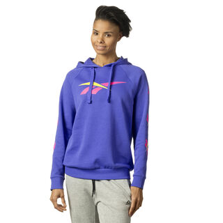 Bold Cropped Hoodie Acid Blue DQ0072