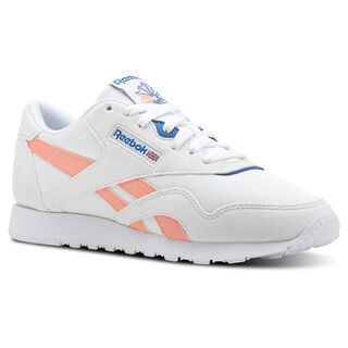 Classic Nylon Retro-White/Digital Pink/Instince Blue CN2966