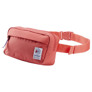 Classic Throwback Zippered Waistbag Bright Rose DU7393