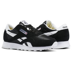 cd8688e42af Reebok - Classic Nylon - Grade School Black   White J21506