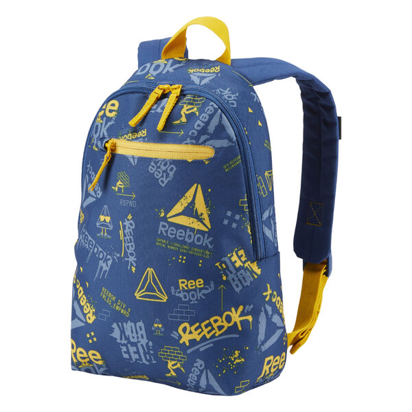Kids Unisex Small Graphic Backpack 2 Blue DA1239