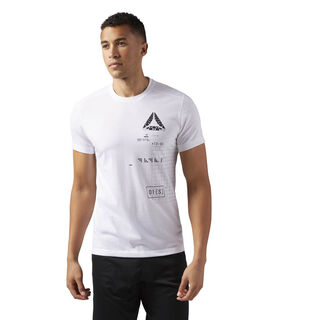Camiseta Gráfica Speedwick WHITE CD5218