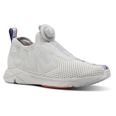 50cd45962c6059 Reebok - Reebok Pump Supreme Jacquard Tape Skull Grey Blue  Move Carotene White