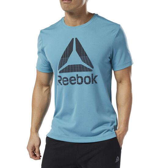 Reebok - T-shirt WOR Graphic Tech Mineral Mist DU2197