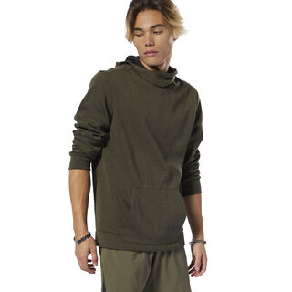 WOR Doubleknit Hoodie Army Green DW7396