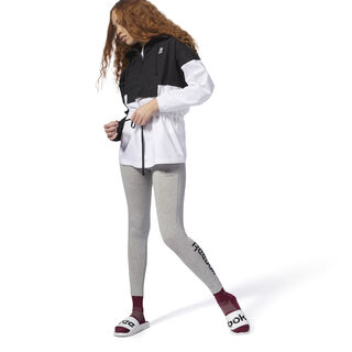 Essential Jersey Leggings Medium Grey Heather / Black DH1366