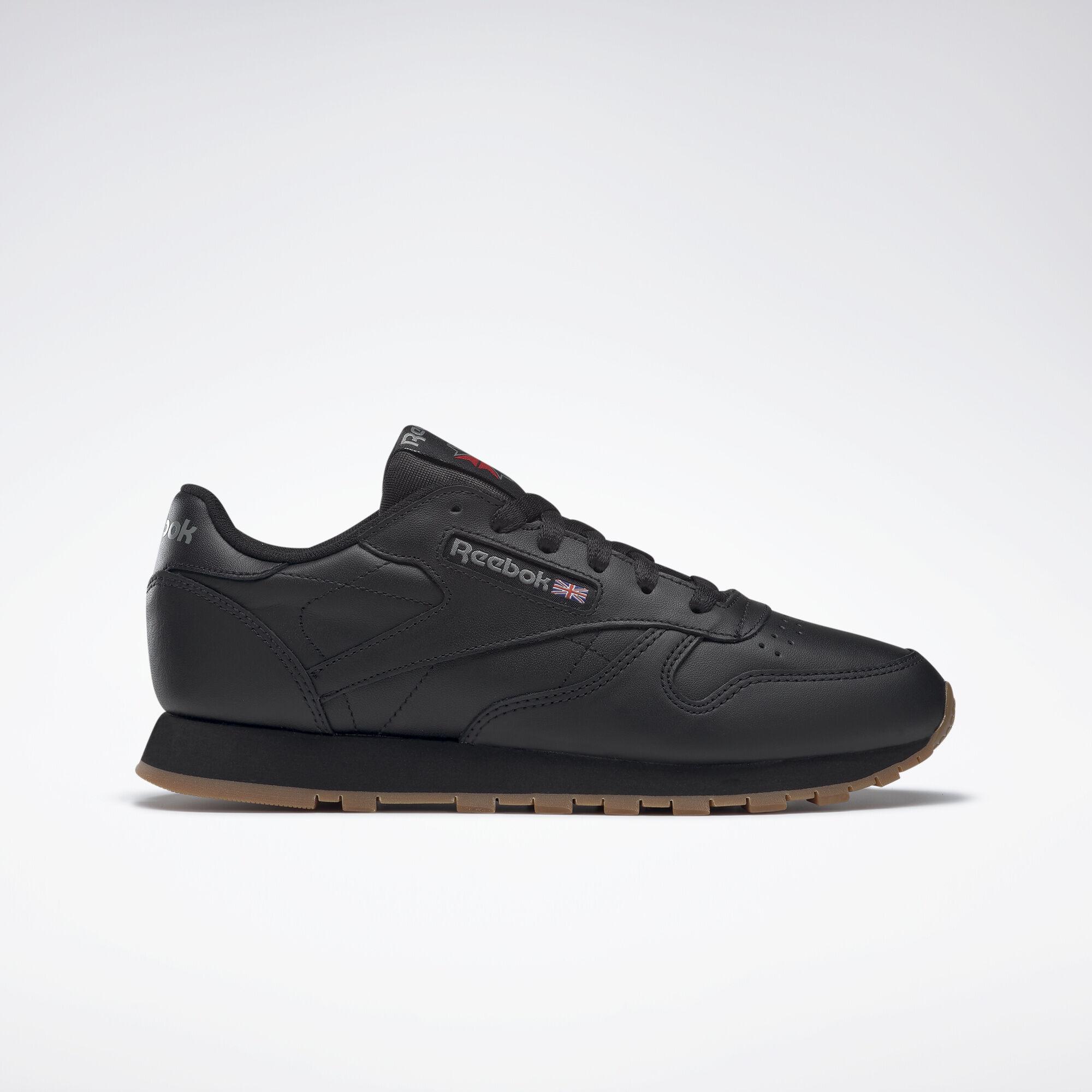 reebok classic leather black reebok mlt