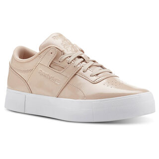 Workout Lo Shny Suede-Bare Beige/White CN3564