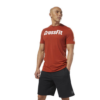 Reebok CrossFit Speedwick F.E.F. Graphic Tee Burnt Amber DH3707
