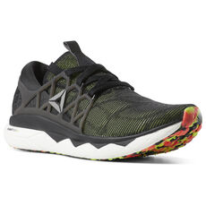 825dc8d01bd596 Reebok - Reebok Floatride Run Flexweave Black Lime Grey Red White DV3964