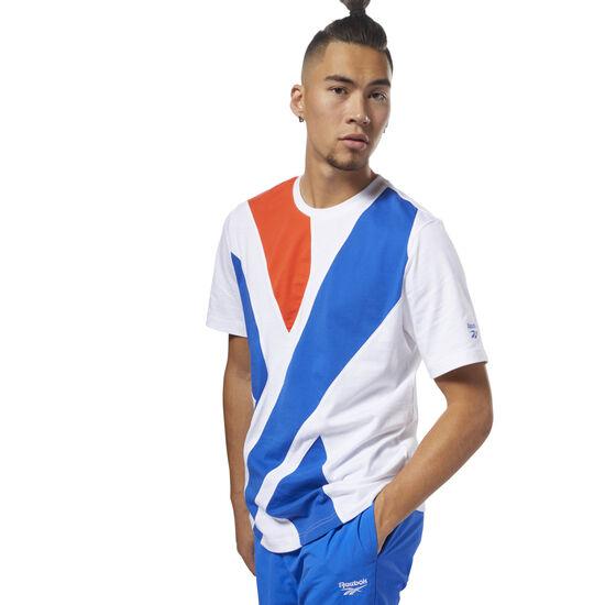 Reebok - Classics Vector T-Shirt White / Vital Blue DH1273