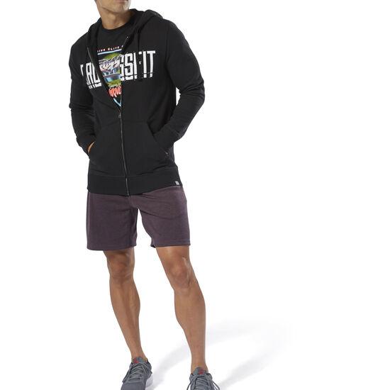 Reebok - Reebok CrossFit® Zip Hoodie Black DU4614