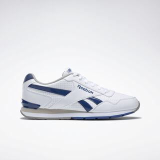 Reebok Royal Glide S Clip White/Team Dark Royal/Carbon/Steel AQ9166