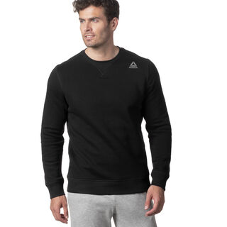 Elements Fleece Crew Black D94201