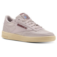 57a69168c663 Reebok - Club C 85 Vintage-Lavender Luck Paper Wht Rust Wine . 5 colours