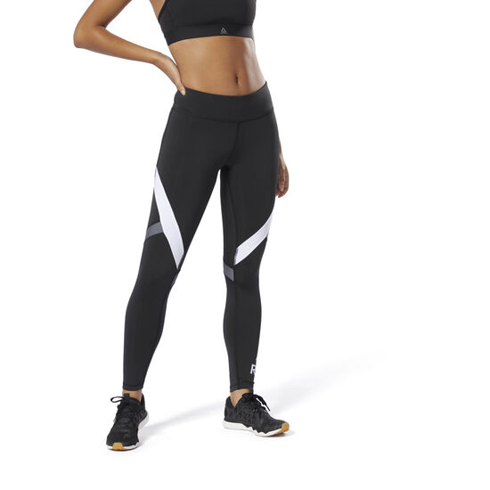 Reebok - WOR Big Delta Tights Black DU4725