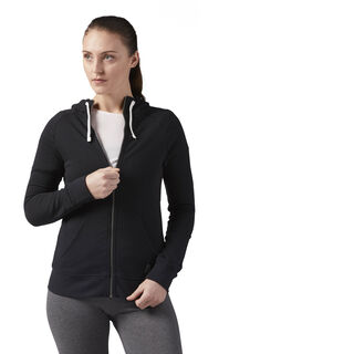 Training Essentials French Terry Hoodie Black CF8596