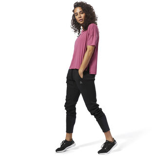 Relaxed Women's T-Shirt Twisted Berry D94134