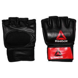Combat Leather MMA Glove - Large Black/Red BH7250