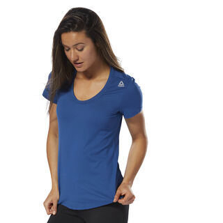 Workout Ready Speedwick Tee Bunker Blue D95073