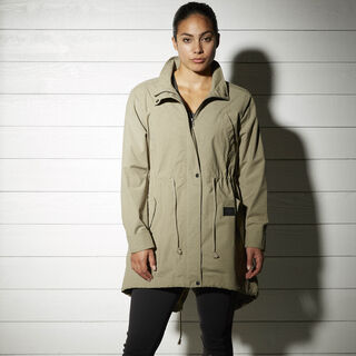 The Noble Fight Fish Tail Parka Green /Khaki S96562