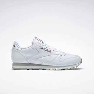 Classic Leather Intense White/Light Grey 2214