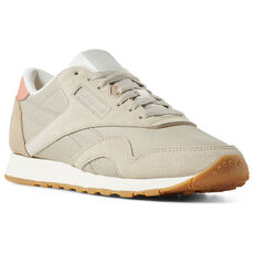 42189053400 Add To Bag. Compare. Reebok - Classic Nylon Light Sand Sand  Beige Pink Chalk CN6688