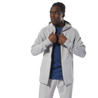 Combat Legacy Full Zip Medium Grey Heather CY9956