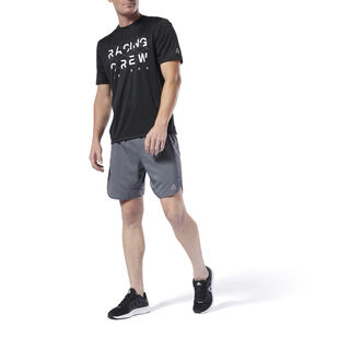 Run Essentials 7 Inch Shorts Cold Grey DU4311
