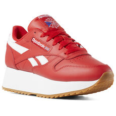 87fbdc6e069 Reebok - Classic Leather Double Primal Red White Cobalt DV3632
