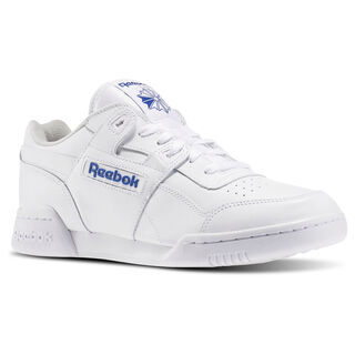 Workout Plus White/Royal 2759