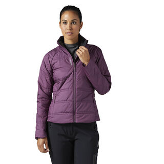 Outdoor Padded Jacket Washed Plum BR0526