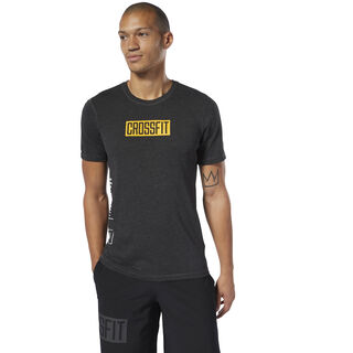 Reebok CrossFit® Move Tee Black Melange DP4588