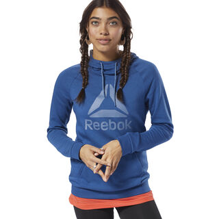 Workout Ready Logo Hoodie Bunker Blue / Blue Slate D95470