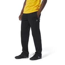 267e7ded0842d7 Reebok - Training Essentials French Terry Open Hem Pants Black DU3754 ...